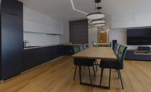 Oak flooring for the kitchen