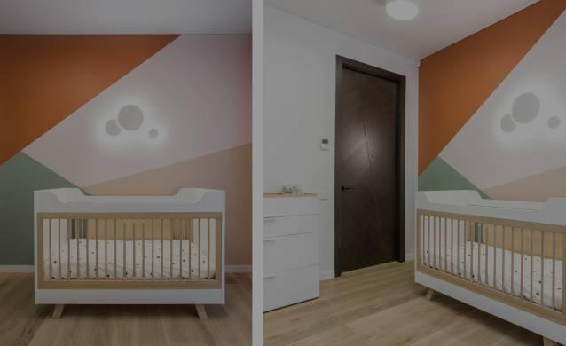 Oak flooring for Kid's room