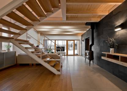 Natural Oak/3305 by TEARCHITECTURE