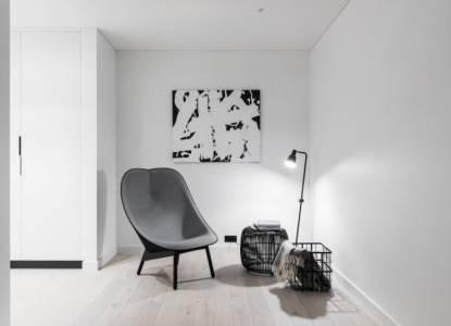 Nordic white by Dizaino Virtuve
